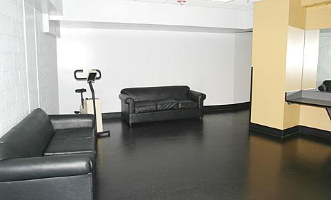official's locker room